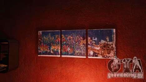Новые постеры в квартире Плейбоя для GTA 4 второй скриншот