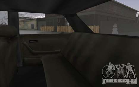 VC Admiral для GTA San Andreas вид изнутри