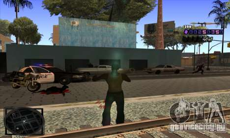 C-HUD Belenky для GTA San Andreas четвёртый скриншот