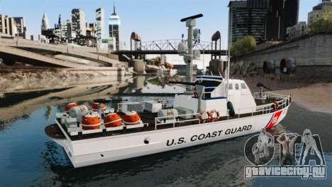 Канонерская лодка U.S. Coastguard для GTA 4 вид слева