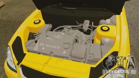 ВАЗ-2170 Лада Приора для GTA 4 вид изнутри