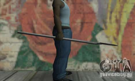Лопата для GTA San Andreas третий скриншот