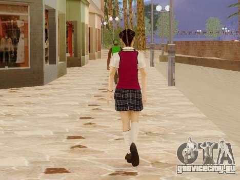 Hanako для GTA San Andreas шестой скриншот