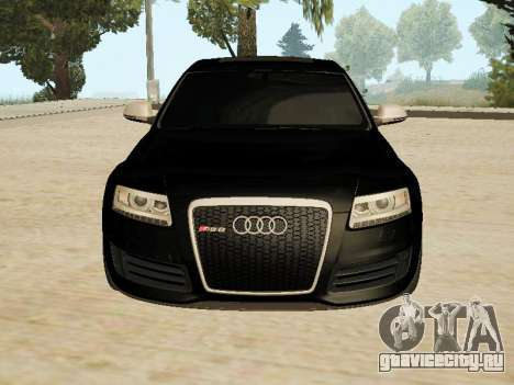 Audi RS6 для GTA San Andreas вид слева