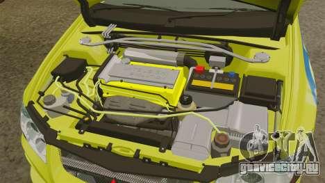 Mitsubishi Lancer Evolution VII 2002 для GTA 4