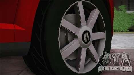 Seat Toledo 1.9TDi 2006 для GTA San Andreas вид сзади