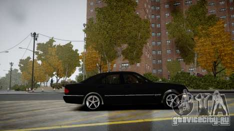 Mercedes-Benz E280 Beta для GTA 4 вид слева