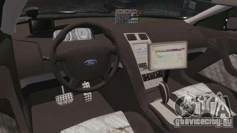 Ford BF Falcon XR6 Turbo LCHP [ELS] для GTA 4 вид сзади