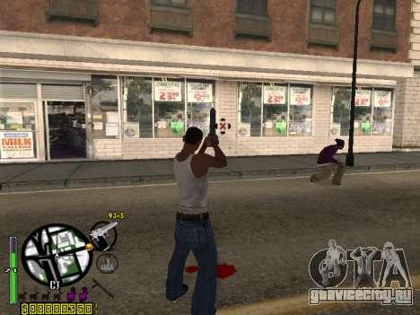 C-HUD by Leytenant для GTA San Andreas второй скриншот