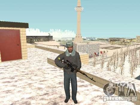 Пак русского стрелкового оружия для GTA San Andreas
