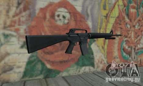 M16 из L4D для GTA San Andreas второй скриншот