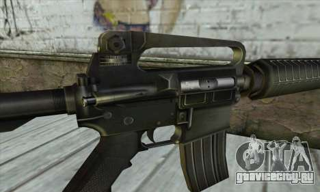 M4 из Conter Strike для GTA San Andreas третий скриншот