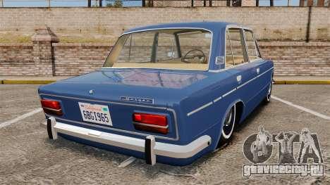 ВАЗ-2103 Жигули для GTA 4 вид сзади слева