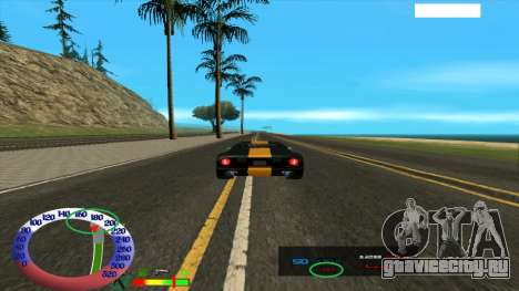 Ограничение скорости для SAMP для GTA San Andreas второй скриншот