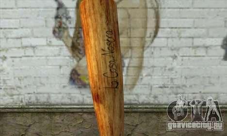 LCN Baseball bat для GTA San Andreas второй скриншот
