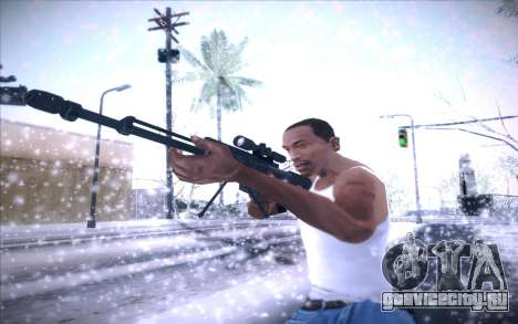 Barrett AS50 для GTA San Andreas четвёртый скриншот