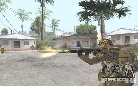 АК-101 для GTA San Andreas четвёртый скриншот
