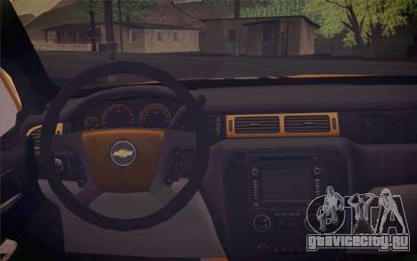 Chevrolet Silverado 2500 LTZ для GTA San Andreas вид справа