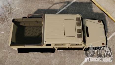 Mercedes-Benz G63 AMG 6x6 для GTA 4 вид справа