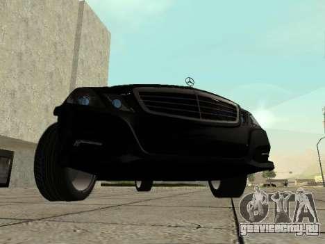 Mercedes-Benz w212 E-class Estate для GTA San Andreas вид слева
