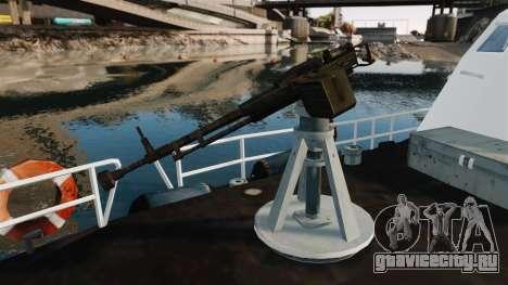 Канонерская лодка U.S. Coastguard для GTA 4 вид сзади