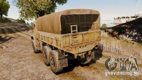Oshkosh MTVR MK23 для GTA 4 вид сзади слева