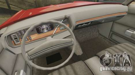 Dodge Polara 1971 для GTA 4 вид сбоку