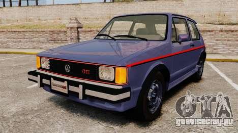 Volkswagen Rabbit GTI 1984 для GTA 4