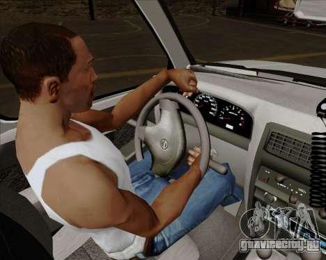 Nissan Terrano для GTA San Andreas салон