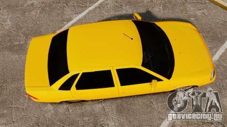 ВАЗ-2170 Лада Приора для GTA 4 вид справа