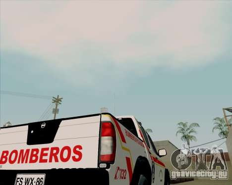 Nissan Terrano для GTA San Andreas вид сбоку