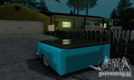 Прицеп для ВАЗ 2102 для GTA San Andreas вид справа