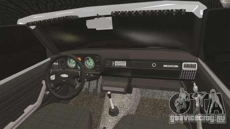 ВАЗ-2105 для GTA 4 вид изнутри