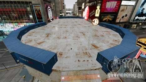 Открытая арена для боёв автотранспорта для GTA 4 второй скриншот