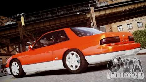 Nissan 240sx Сoupe 1992 для GTA 4 вид сзади