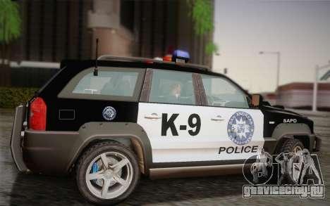 NFS Suv Rhino Heavy - Police car 2004 для GTA San Andreas вид слева