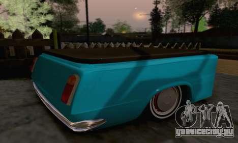 Прицеп для ВАЗ 2102 для GTA San Andreas вид слева