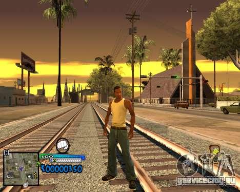 C-HUD Old School для GTA San Andreas