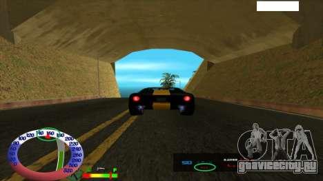 Ограничение скорости для SAMP для GTA San Andreas
