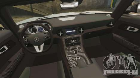 Mercedes-Benz SLS 2014 AMG Black Series для GTA 4 вид сбоку