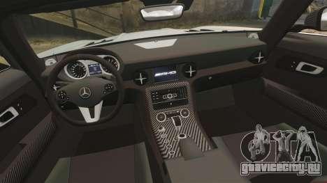 Mercedes-Benz SLS 2014 AMG Black Series для GTA 4 вид сбоку