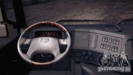 Volvo FM12 8X4 Dumper для GTA San Andreas вид справа