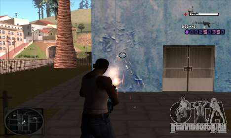 C-HUD Belenky для GTA San Andreas второй скриншот