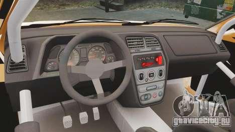 Peugeot 306 [RC] Unal Turan для GTA 4 вид справа