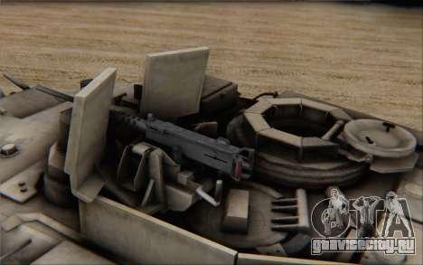 M1A2 Abrams для GTA San Andreas вид сзади слева
