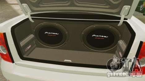 ВАЗ-2170 Lada Priora Luks для GTA 4 вид сзади