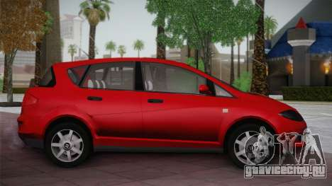 Seat Toledo 1.9TDi 2006 для GTA San Andreas вид слева