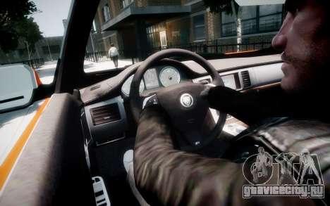 Jaguar XF-R 2012 v1.1 для GTA 4 салон