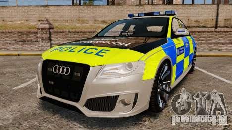 Audi S4 2013 Metropolitan Police [ELS] для GTA 4