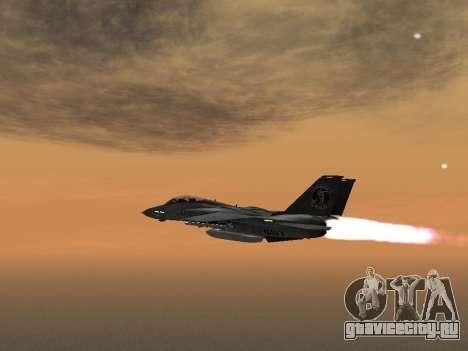 F-14 LQ для GTA San Andreas вид слева